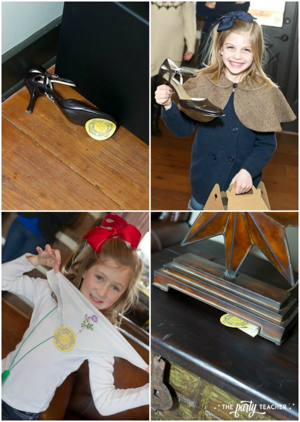 Nancy Drew Mystery Birthday Party by The Party Teacher - detectives finding clues
