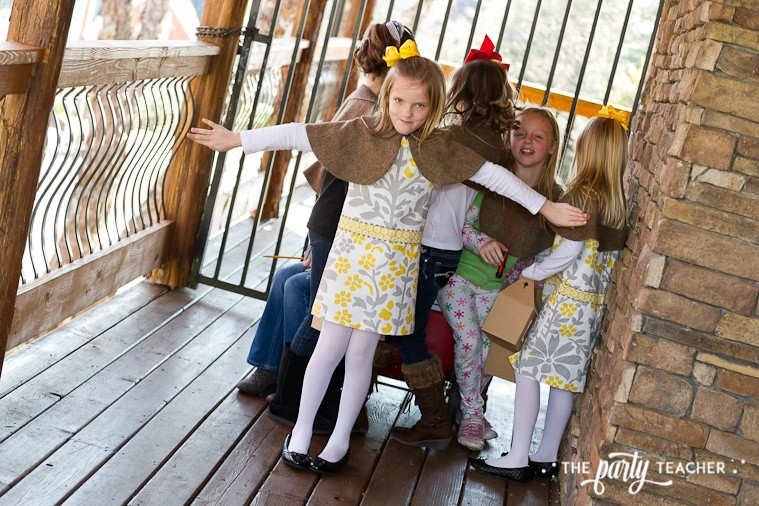 Nancy Drew Mystery Birthday Party by The Party Teacher - guarding the favors