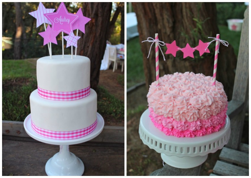 Bloom Cakes Collage