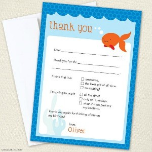 Party Manners: How to Make Writing Thank You Notes Easy for Kids — At Any Age