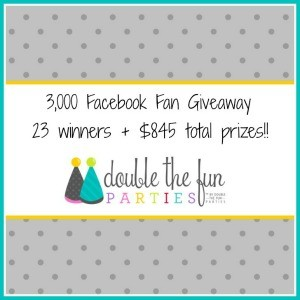 3,000 Fan Giveaway: $845 in Prizes to 23 Winners!