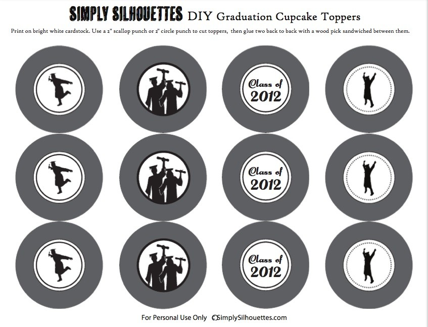 FF Simply Silhouettes graudation-2