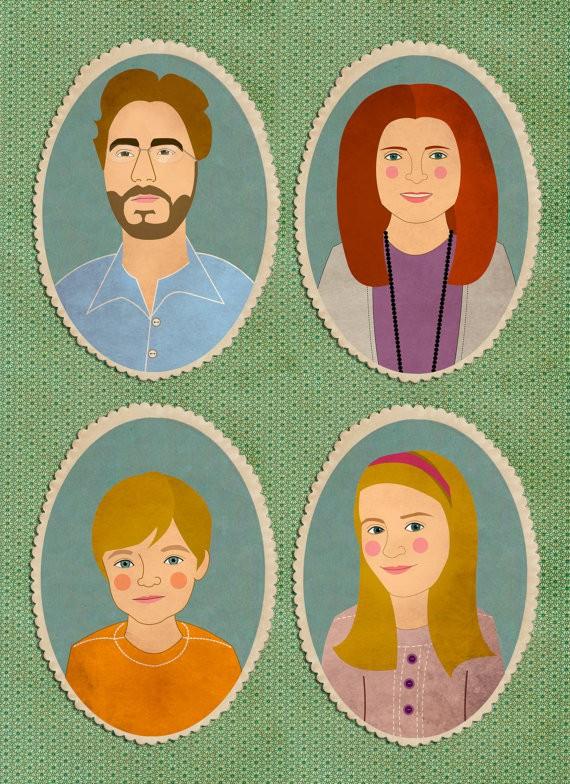 Lili DiPrima family portrait