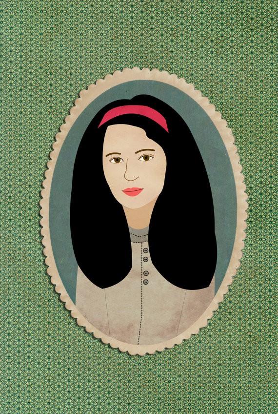 Lili DiPrima girl portrait