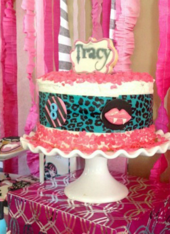 MH Spa Party Cake
