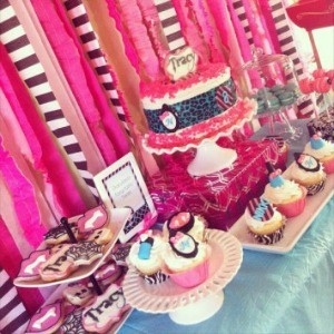Guest Party: Monster High Spa 8th Birthday Party