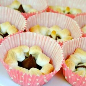 Recipe: Mini S'mores Kiss Cups