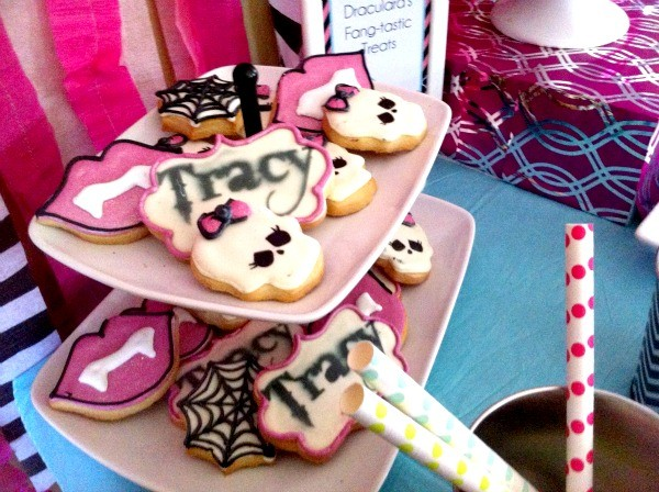 Monster High Spa Party Cookies