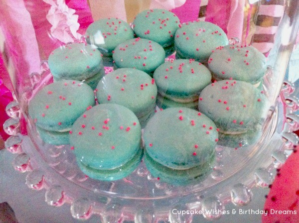 Monster High Spa Party Macarons