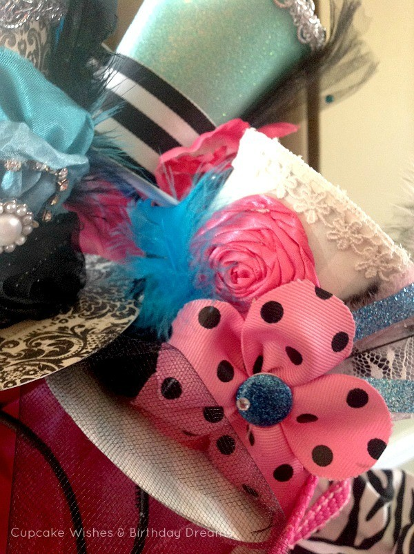Monster High Spa Party Mini Top Hats