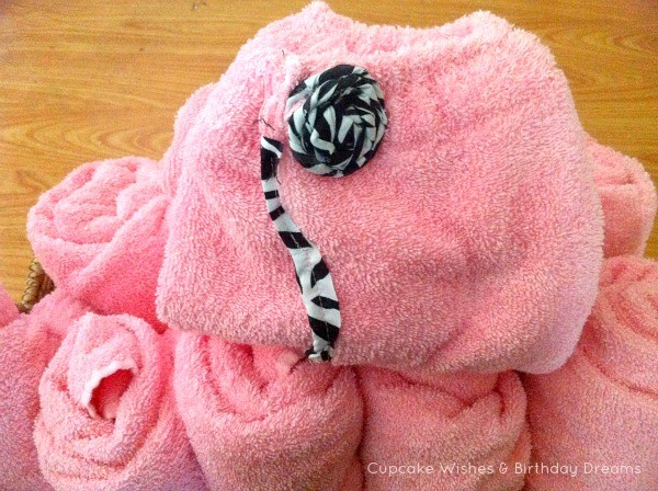 Monster High Spa Party Towel wraps