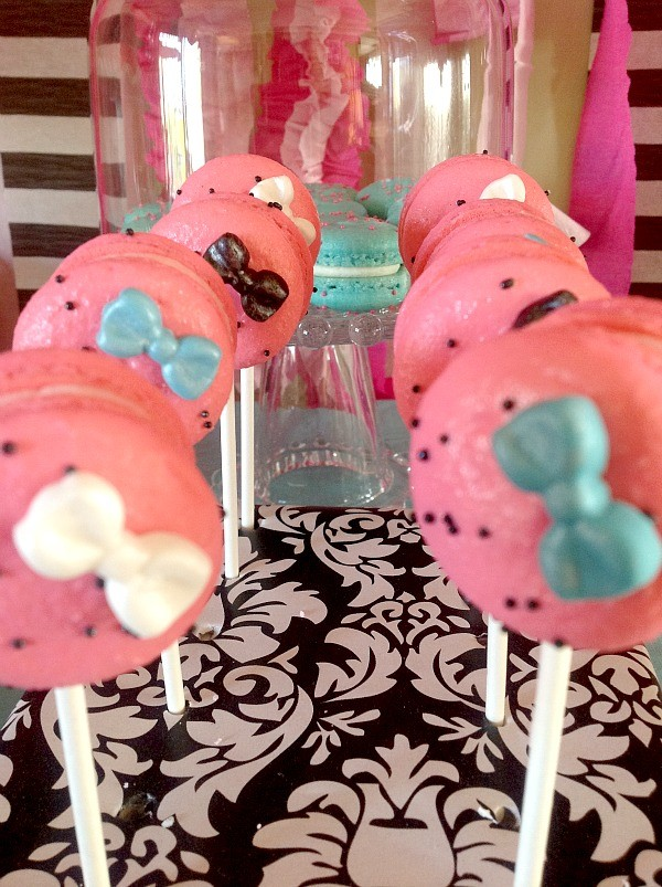 Monster high Spa Party Macaron Pops