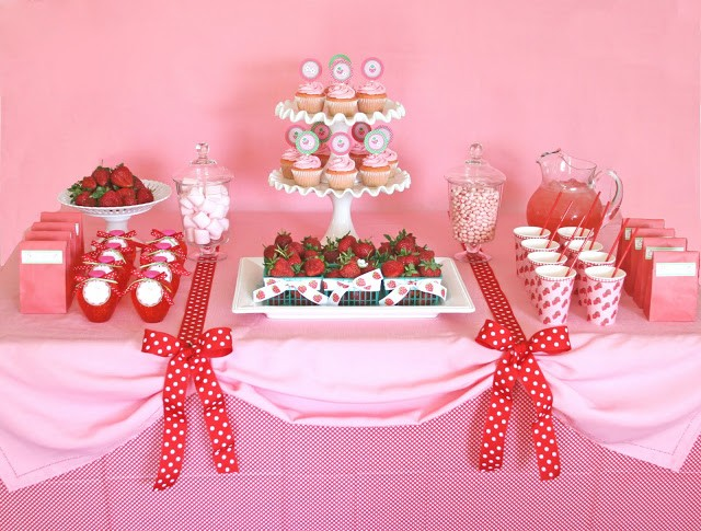 Strawberry party by Glorious Treats
