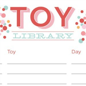 Sponsor Love: Inkwell Design Studio + Toy Library Free Printable