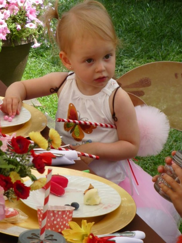 Woodland fairy birthday party by Ritzy Parties featured on The Party Teacher - fairy wings for guests