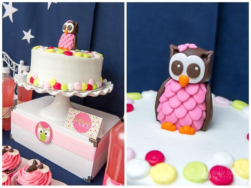 DFP Night Owl Party cake