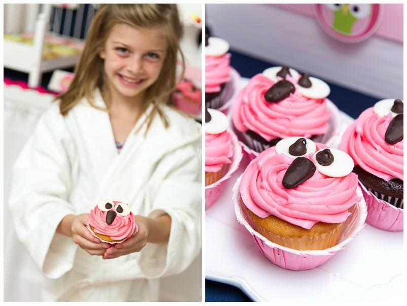 DFP Night Owl Party cupcakes