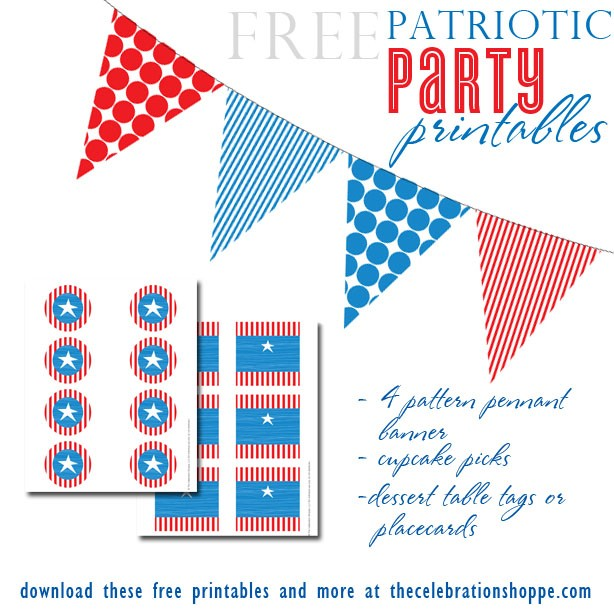 FF The Celebration Shoppe July 4th