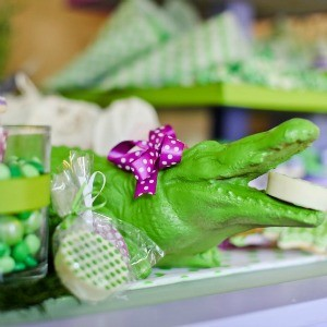 Guest Party & GIVEAWAY: Polka Dot Crocodile Birthday Party