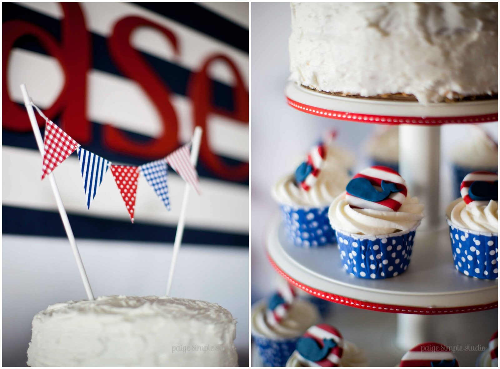 Guest Party Boy S Nautical First Birthday Party The