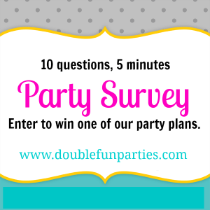 10 Party Questions for You + Chance to Win a Party Plan!