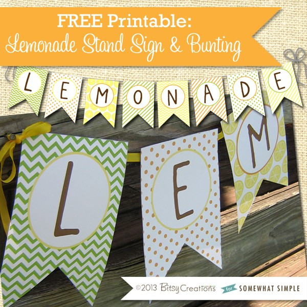 photograph regarding Lemonade Signs Printable identified as Freebie Friday: Lemonade Stand No cost Printables