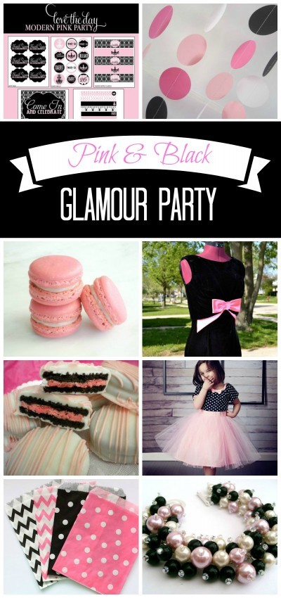 Pink & Black Glamour Party 1