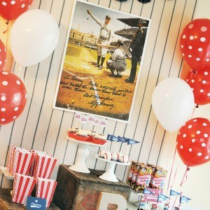 Guest Party: Vintage Baseball 79th Birthday Bash