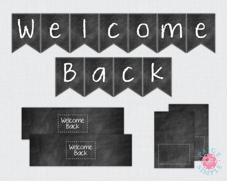 FF Paige Simple Back to School