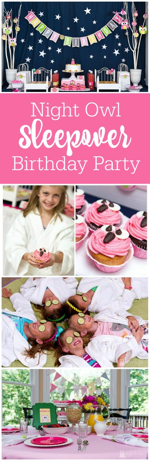 Host a night owl sleepover party - the party's already been planned for you - The Party Teacher