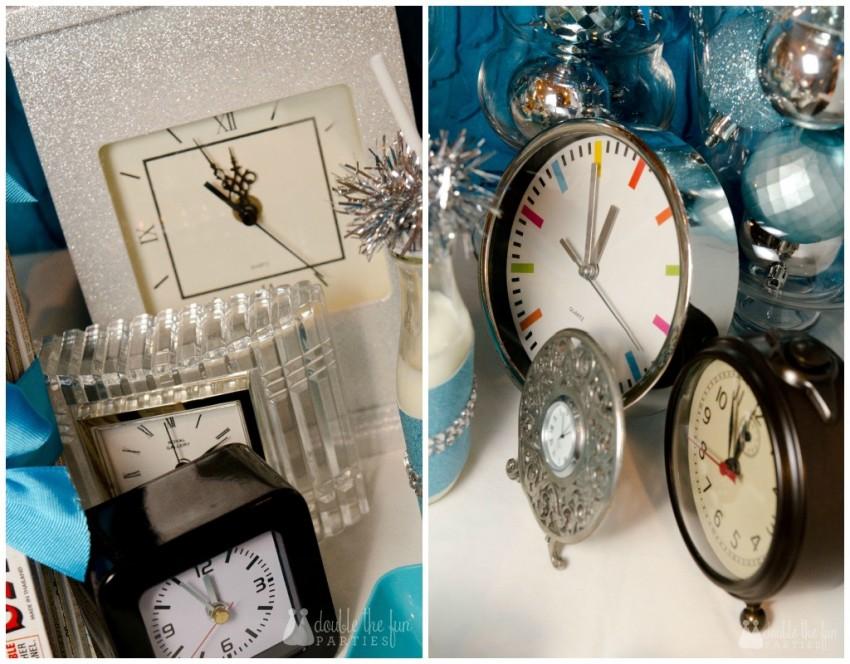 NYE Clocks Collage