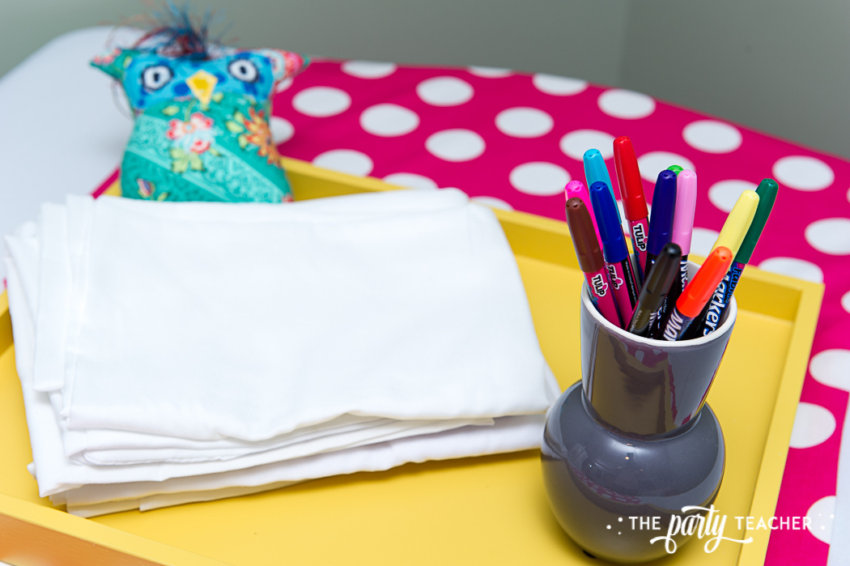 Night Owl Sleepover by The Party Teacher-decorating pillow cases