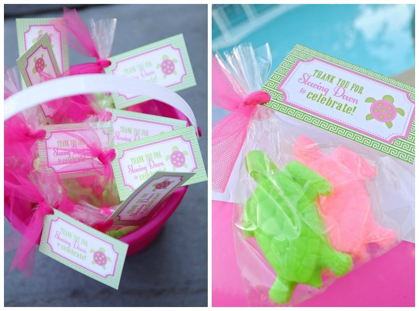 Preppy Sea Turtle Favors
