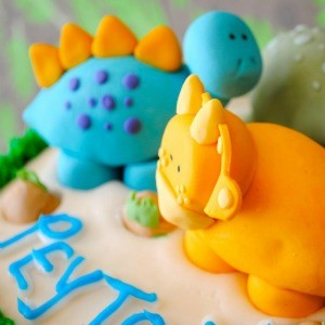 My Parties: Dinosaur Baby Shower (And How I Planned It)