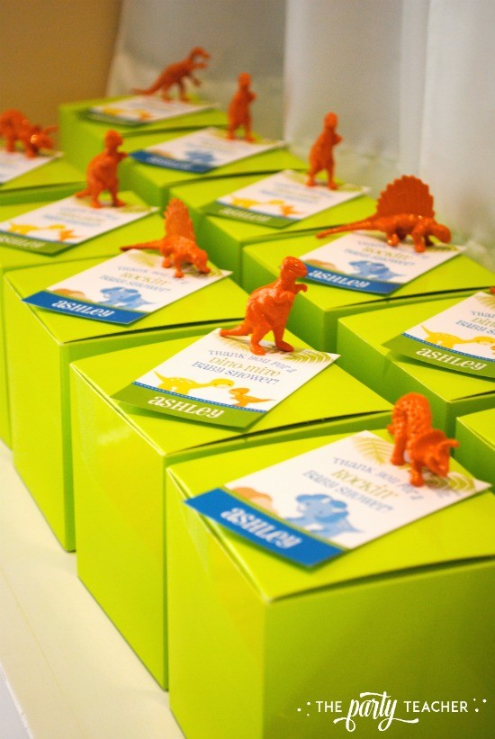 Dinosaur Baby Shower by The Party Teacher - party favors