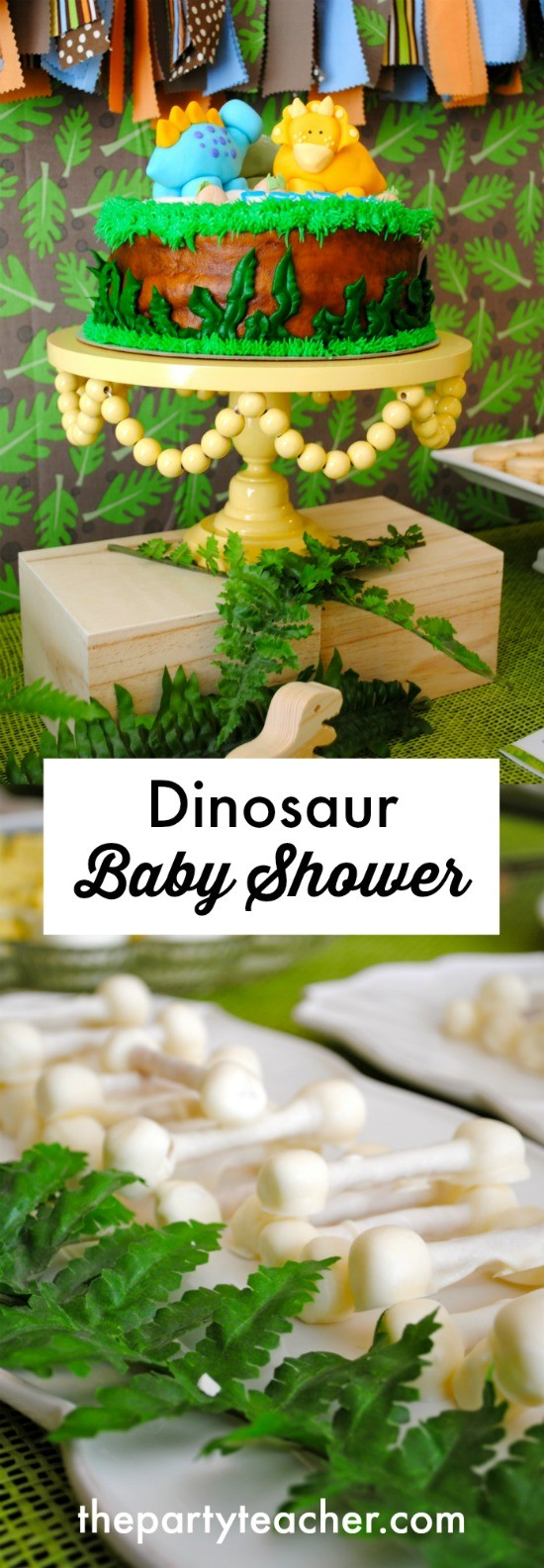 How to plan a dinosaur baby shower by The Party Teacher