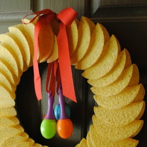 Tutorial How To Make A Taco Shell Wreath
