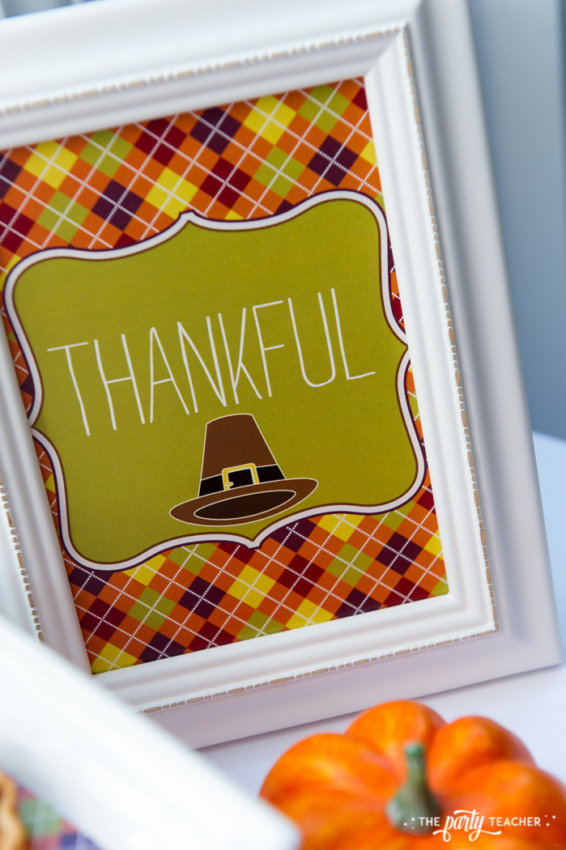 Bright and Colorful Thanksgiving Children's Table by The Party Teacher-163