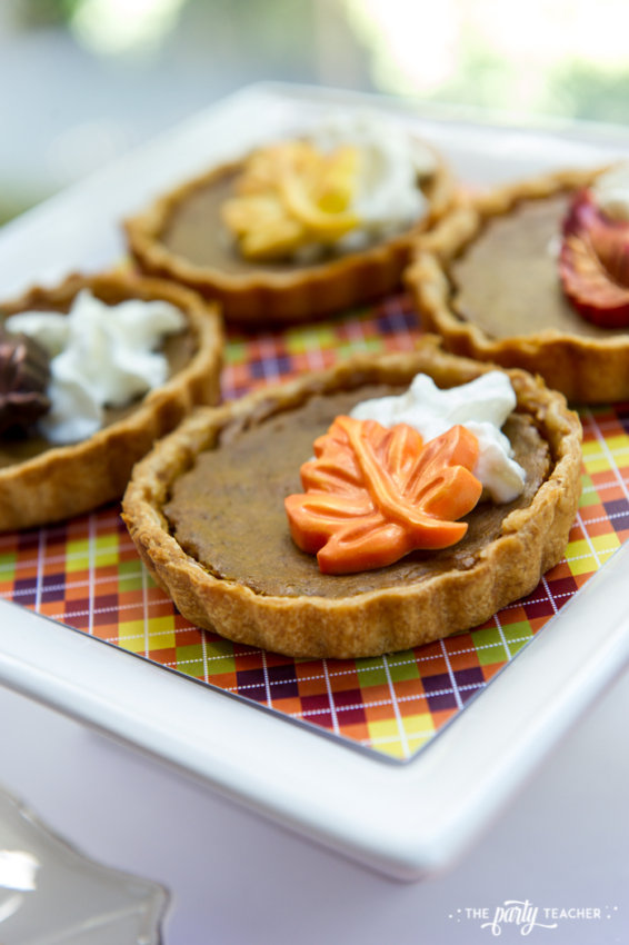 Bright and Colorful Thanksgiving Children's Table by The Party Teacher-21