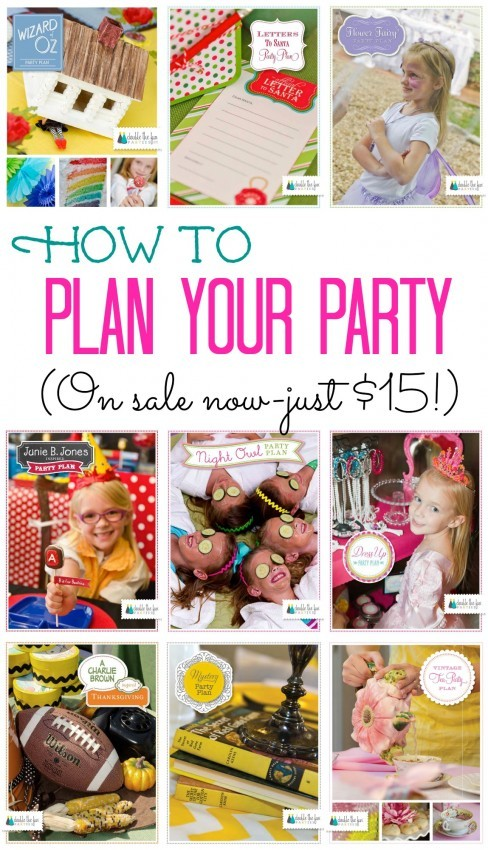 Black Friday Weekend Sale: All DIY Party Plans Are Just $15