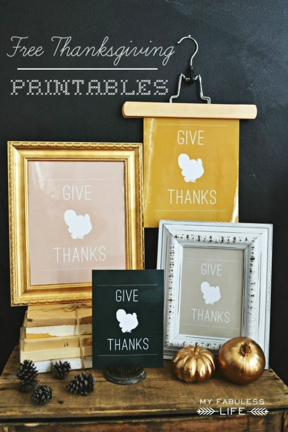 FF My Fabuless Life Thanksgiving