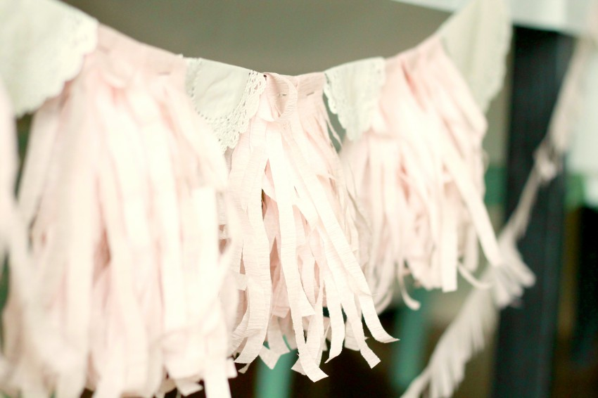 Country Fair Birthday Party by The Crafty Woman featured on The Party Teacher - tissue tassels