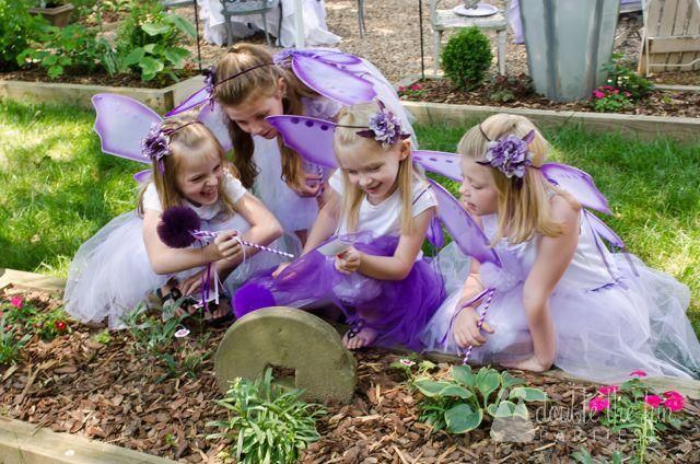 Double the Fun Parties Flower Fairy Party