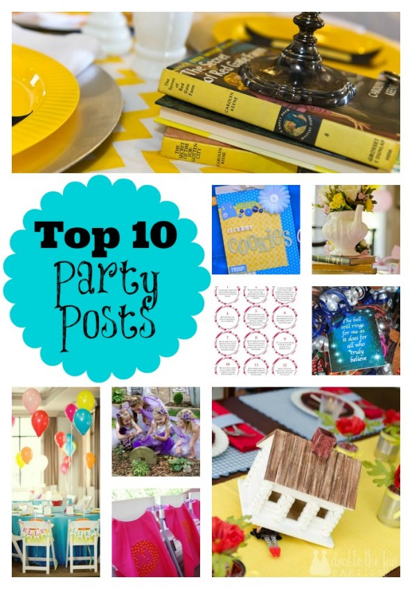 Double the Fun Parties Top 10 Party Posts of 2013