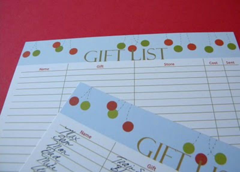 FF Christmas Planner Carolyn's Homework