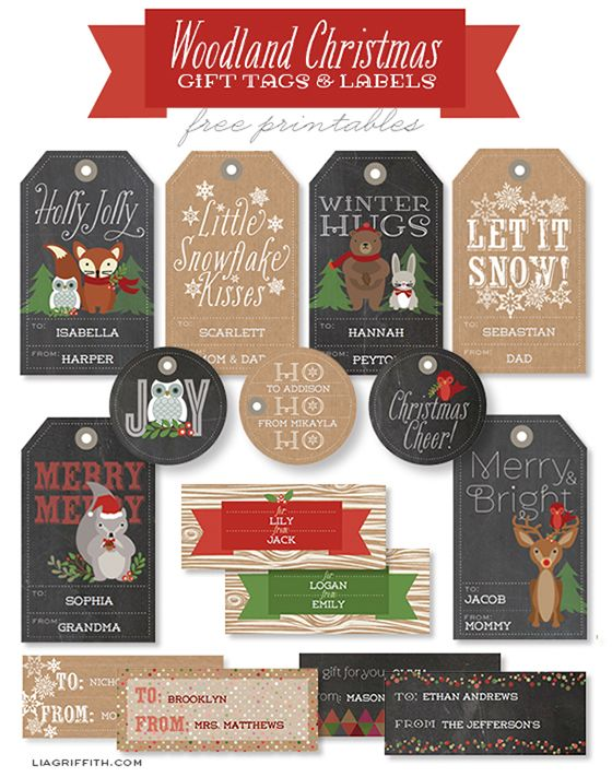FF Christmas Tags Lia Giffith