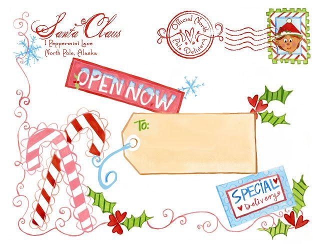 FF Letter from Santa Design Dazzle