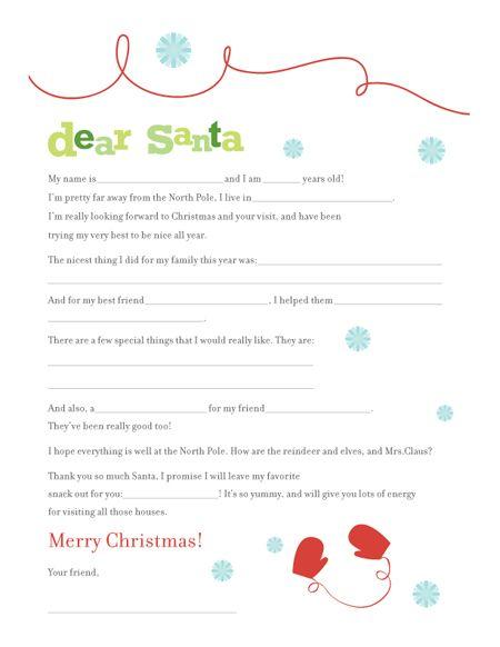 FF Letter to Santa Botanical Paperworks