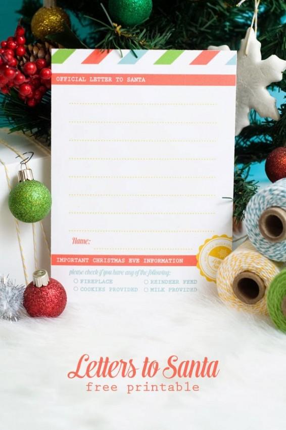FF Letter to Santa Confetti Sunshine