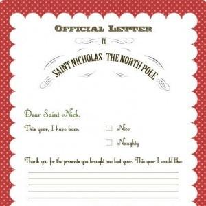 Christmas Freebie: Letters to Santa Free Printables